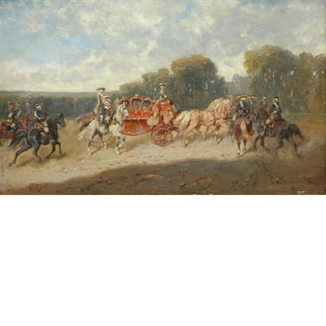 royal carriage by alexander ritter von bensa