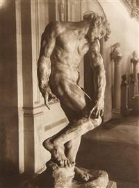 six studies of rodin's sculptures (6 works) by p. choumoff