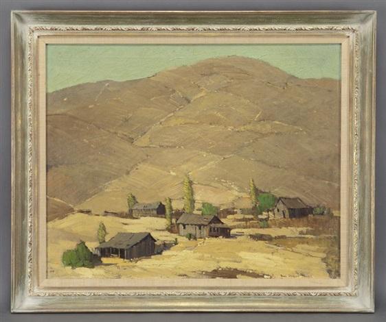 brown hills by paul sample