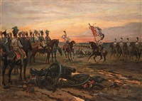 after the battle by viktor vinkentevich mazurovsky