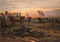 after the battle by viktor vinkentevich mazurovsky
