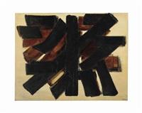 peinture 114 x 146cm., 15 février 1954 by pierre soulages