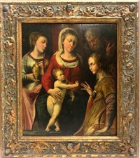 la sainte famille by flemish school (17)