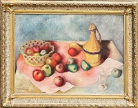 zátiší s jablkama by josef gabriel