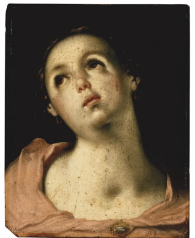 head of a woman by cornelis cornelisz van haarlem