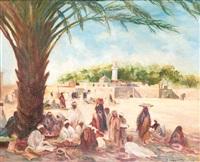 repos sous les palmiers by dario mecatti