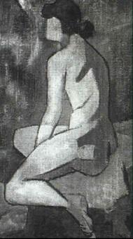 portrait de jeune femme by toffoli