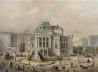 the volkstheater, vienna by johann wilhelm frey