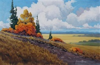 september colours 1 (+ september colours 2, 2 works) by gordon rauch