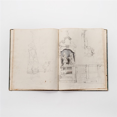 untitled another 2 sketchbooks by johannes bosboom