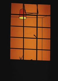 window at night by patrick caulfield