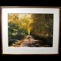 sunlit roadway by ken danby