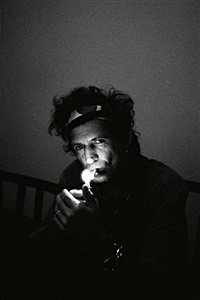 keith richards, new york by claude gassian