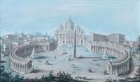 blick auf die piazza san pietro by salvatore colonelli-sciarra