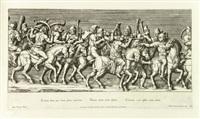 sigismundi augusti mantuam adeuntis profectio ac triumphus (26 works) by pietro santi bartoli