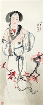 仕女 by liu yuesheng