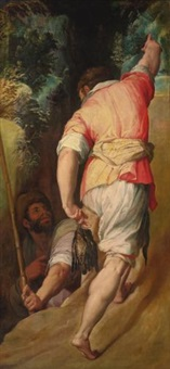 the bird catchers by giorgio vasari and stradanus
