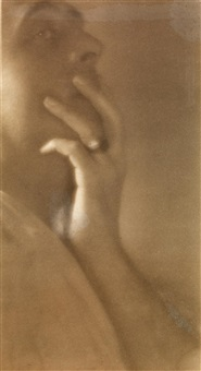 the hand of e. m. by edward weston