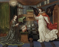 die verkündigung des erzengels gabriel an die jungfrau maria (interieur) by anonymous-dutch (16)