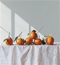 mandarin oranges by liu yingzhao
