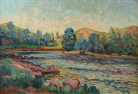 la creuse by armand guillaumin