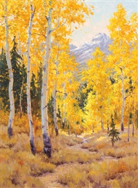 fall of the aspens by ron rencher