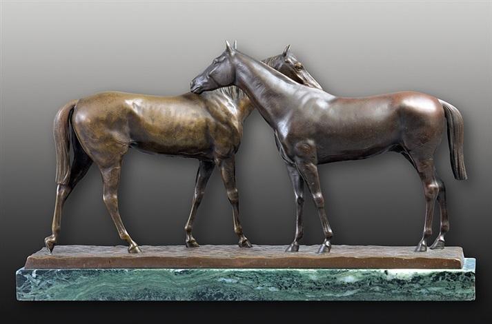 horses by harold gerhardt