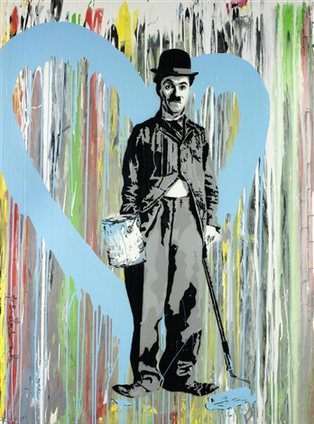 chaplin by mr brainwash