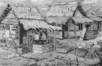 belakang pasar bering hardjo djogjakarta by abas alibasyah