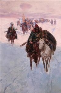 ranny jeździec by franz rouboud