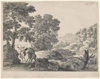 balaam and the ass by herman van swanevelt