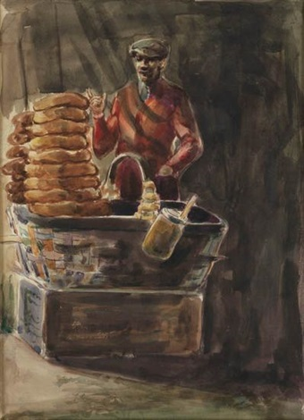 man selling bread by dox thrash