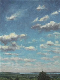 sky over sag harbor by james daga albinson