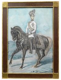 kaiser franz joseph i. von österreich by alexander ritter von bensa
