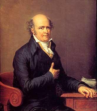 portrait dhomme assis à son bureau by jean baptiste joseph wicar