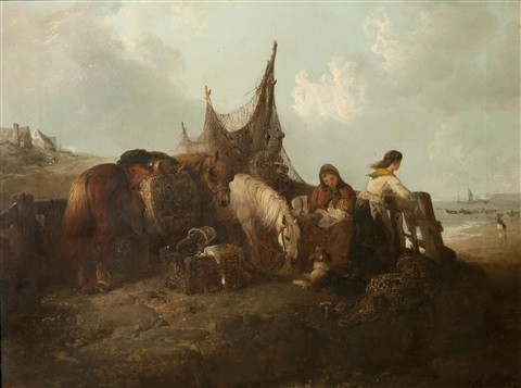 waiting for the shipping boat to return by edward robert smythe
