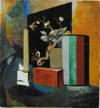 still life with bird by voldemar anderson