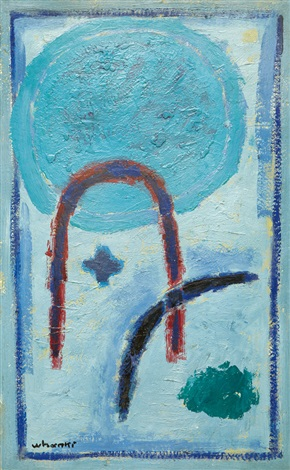 mountain and moon by kim whan ki