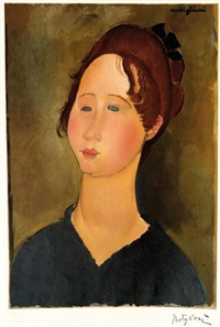 la bourguignonne by amedeo modigliani