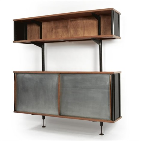 Wall Mounted Storage Unit By Jean Prouvé