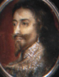 charles i, king of england by henry stone