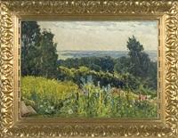 summer landscape by karl langhammer
