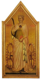 saint catherine of alexandria by bernardo daddi