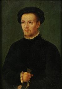 portrait (clément marot?) by french school-lyon (16)
