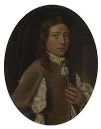 portrait of a young man by joachim von sandrart the elder