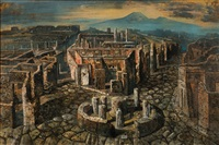 la città morta (pompei) by eugene berman