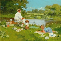 fishing day by john haskins