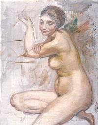 akt kobiecy by roman kramsztyk
