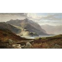 near loch loi, argyllshire by joseph adam
