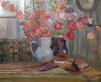 pots with flowers by paul verona